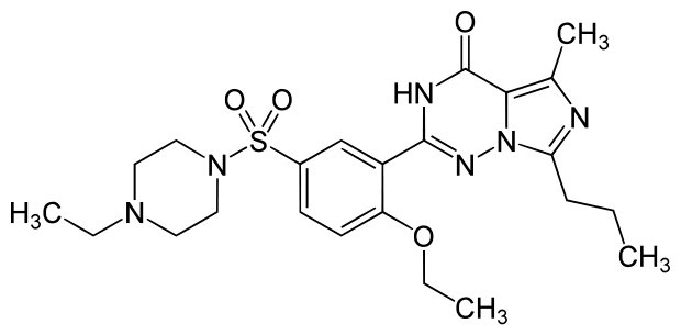 Principio attivo Vardenafil