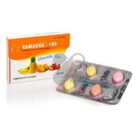 Kamagra chewable 4x100mg - generická viagra