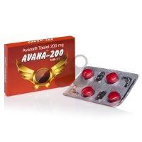 Avana 4 x 200mg - Avanafil tablety