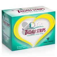 Tadali Strips - Tadalafil oral strips 20mg